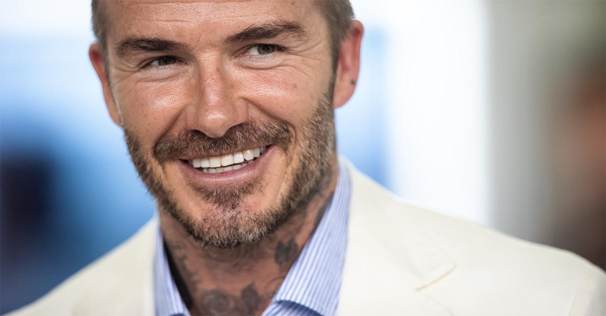 David Beckham quasi calvo: le foto dell'ex calciatore fanno il giro del web