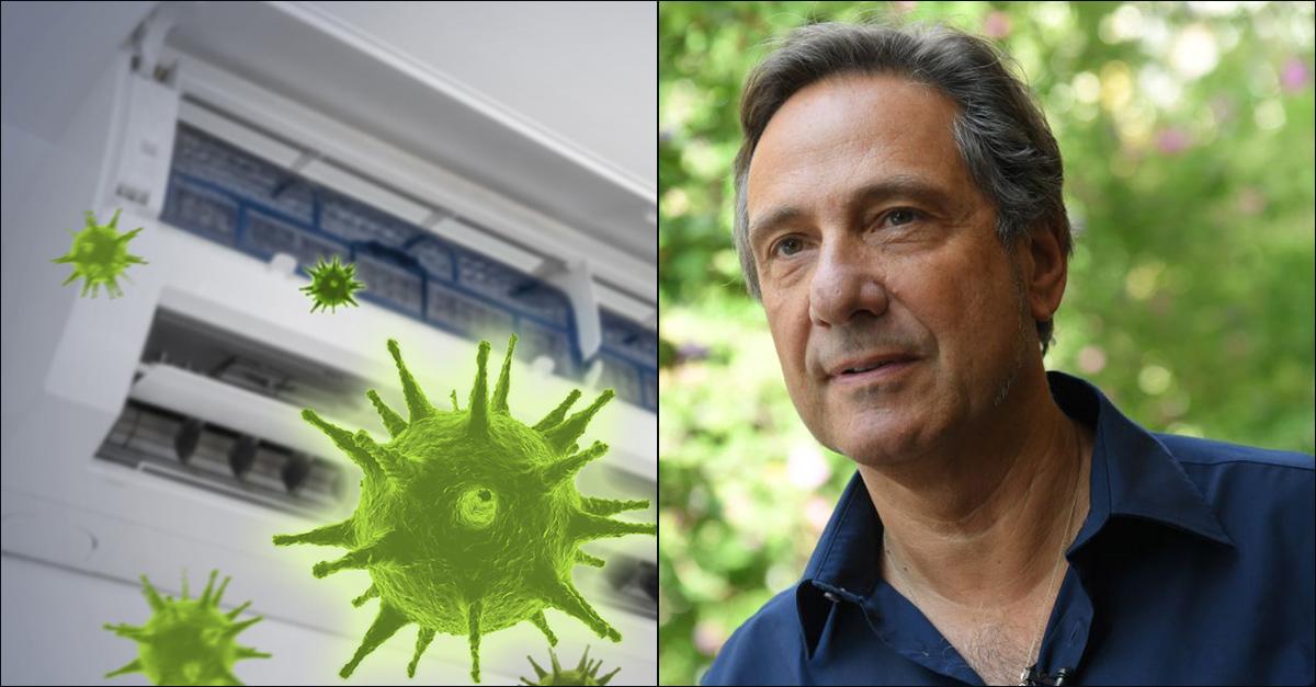 Coronavirus. Aria condizionata e distanza di sicurezza: il parere di Mario Tozzi