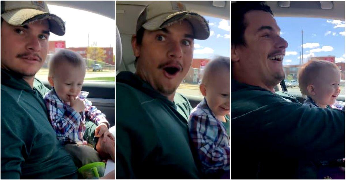 Scopre che la moglie è incinta di 3 gemelli: la reazione del papà (tra amore e terrore)