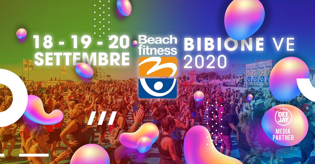 Bibione Beach Fitness: dal 18 al 20 settembre in tutta sicurezza.