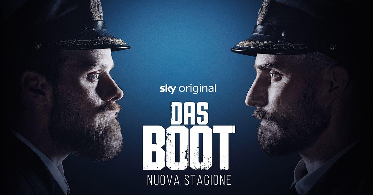 Das Boot, la serie storica sulla 2° Guerra Mondiale targata Sky Original, arriva con la sua seconda stagione su Sky