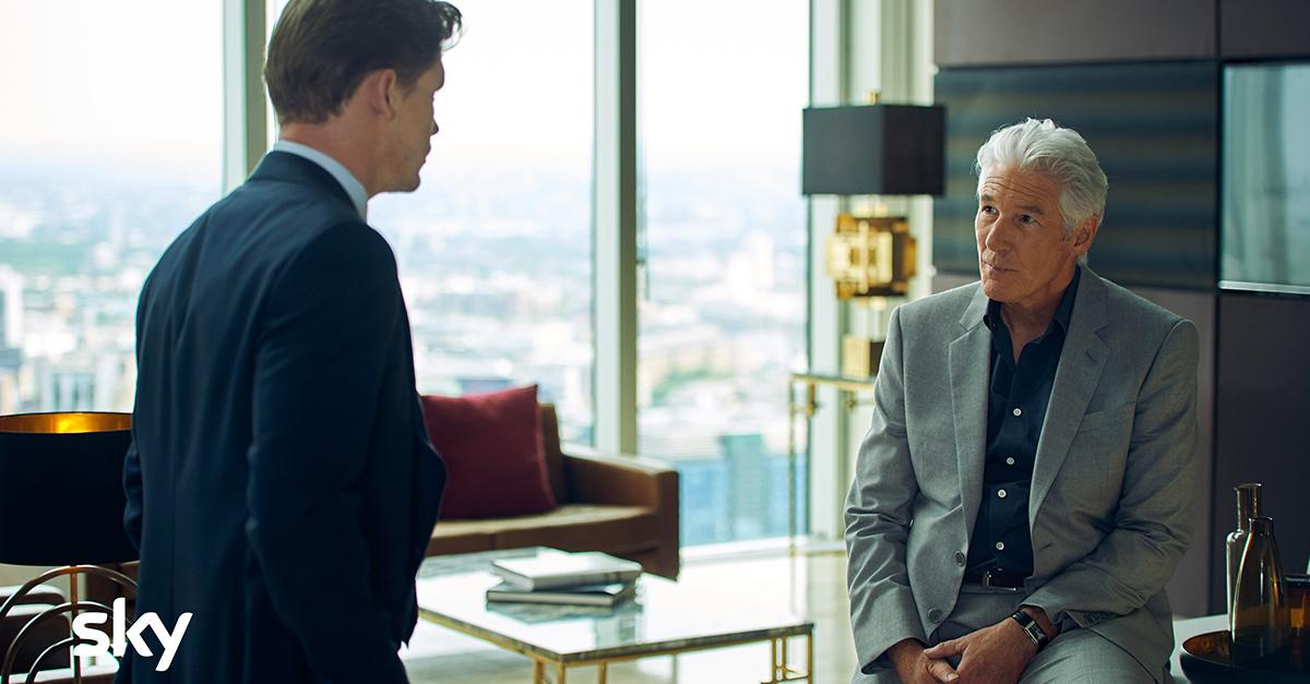 """""""MotherFatherSon"""": arriva la prima serie TV con Richard Gere protagonista."""