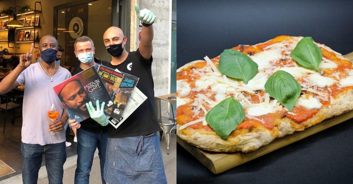 Firenze, una pizza in cambio di vinili: il conto si salda con i dischi usati