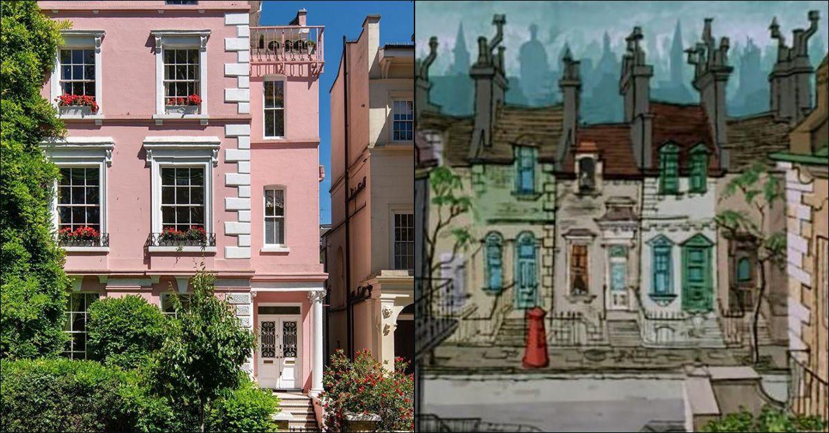 """Londra, è in vendita la casa rosa che ispirò la """"La carica dei 101"""""""