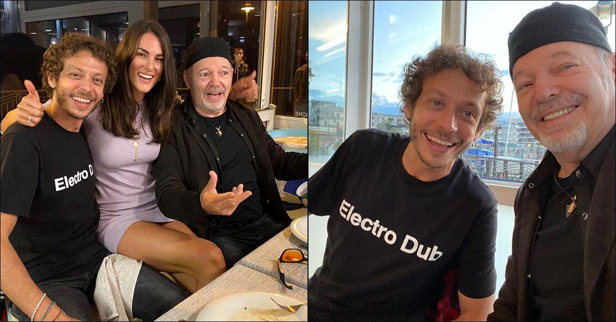 """A cena con i Rossi, Vasco ritrova Valentino dopo il lockdown: """"Splendida serata"""""""