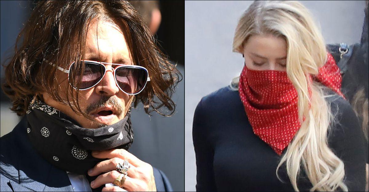 """Londra, Johnny Depp in tribunale contro il """"Sun"""". In aula anche l'ex moglie Amber Heard"""
