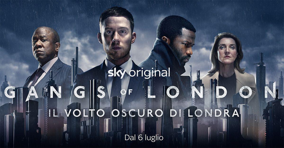 Gangs of London, la nuova serie Sky Original che svela il lato oscuro di Londra