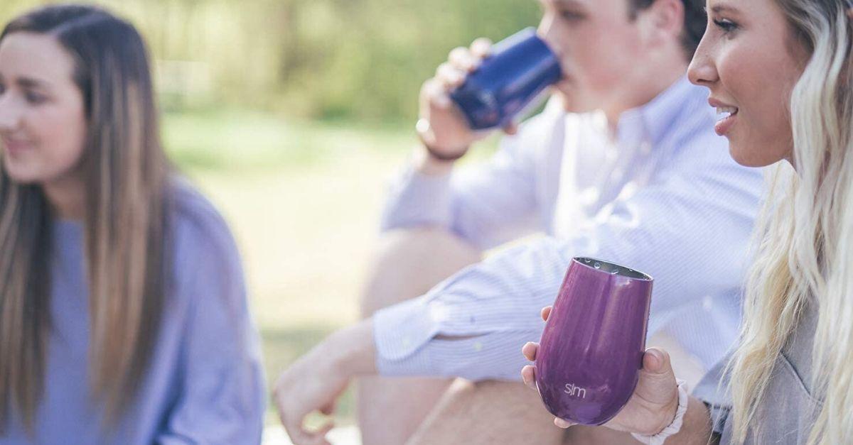 Ecco il bicchiere per il vino che si porta nella borsa