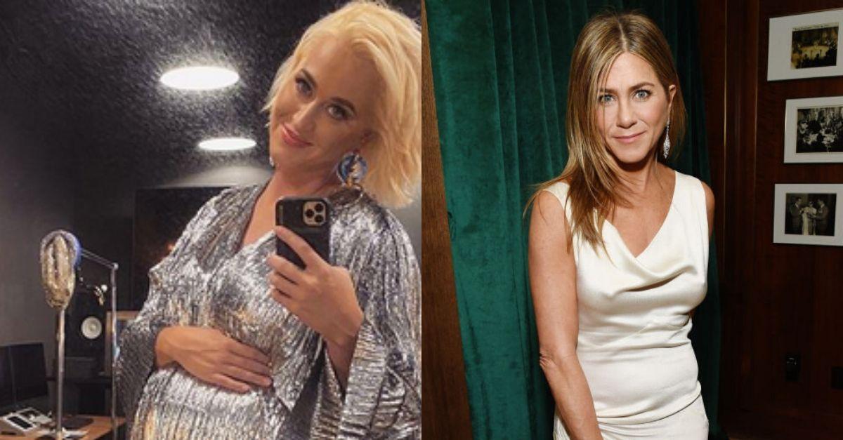 Katy Perry e Orlando Bloom scelgono Jennifer Aniston come madrina per la loro figlia