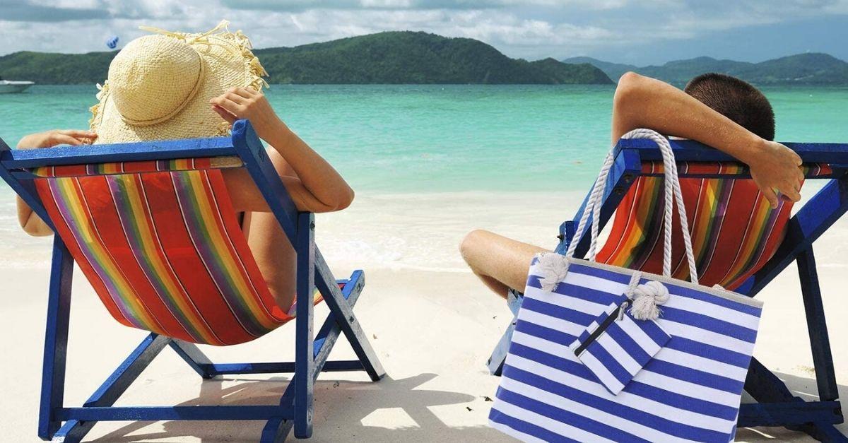 La borsa da spiaggia capiente da portare in vacanza