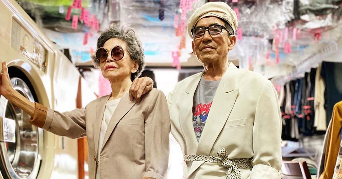 Questa coppia di ottantenni proprietari di una lavanderia sono gli influencer del momento