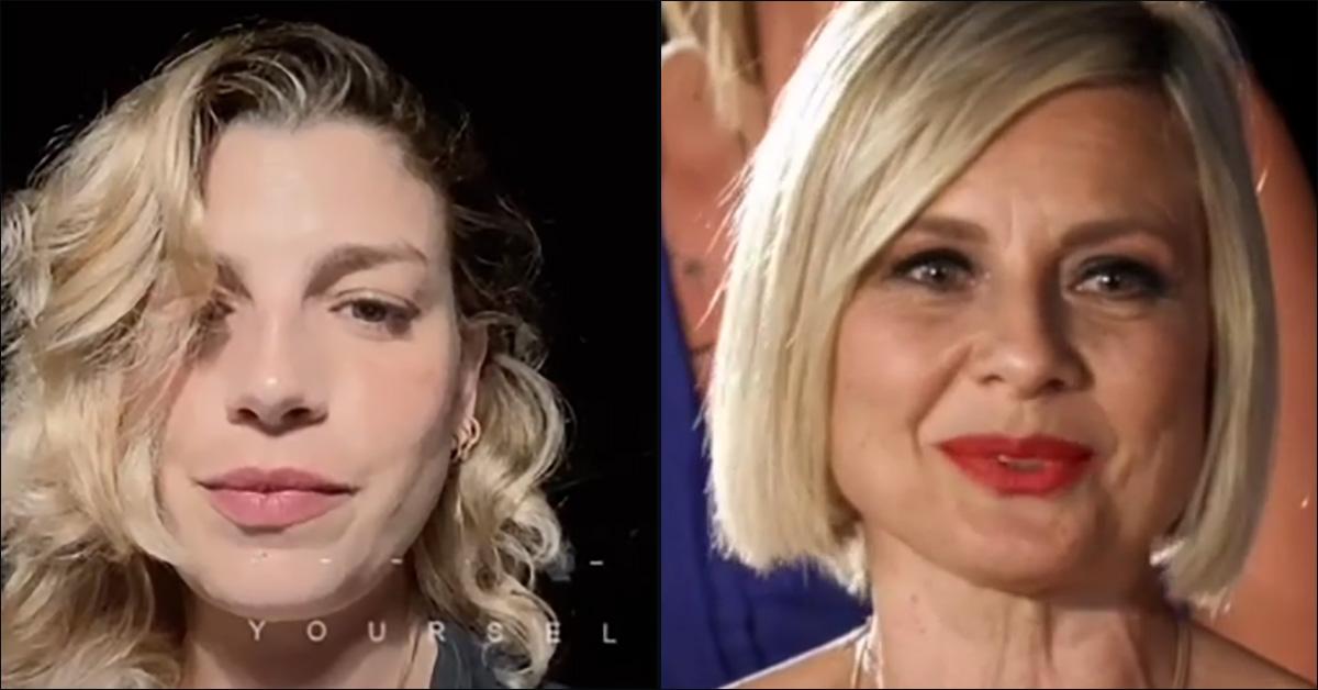 """Temptation Island, Emma Marrone imita la gaffe di Antonella Elia: """"Chi è Sofia?"""""""
