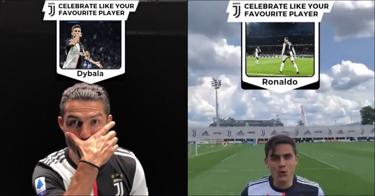 La Juventus sbarca su Tik Tok: nel video i giocatori si imitano a vicenda