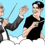 """Ennio Morricone, l'omaggio social degli illustratori: """"Grazie per la tua musica"""""""