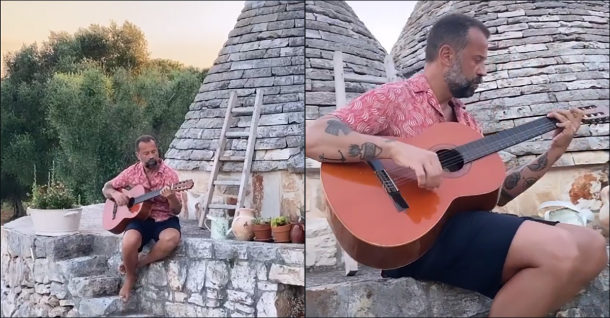 """Fabio Volo, cartolina social dal Salento: """"In Puglia mi sento a casa. Terra magica"""""""