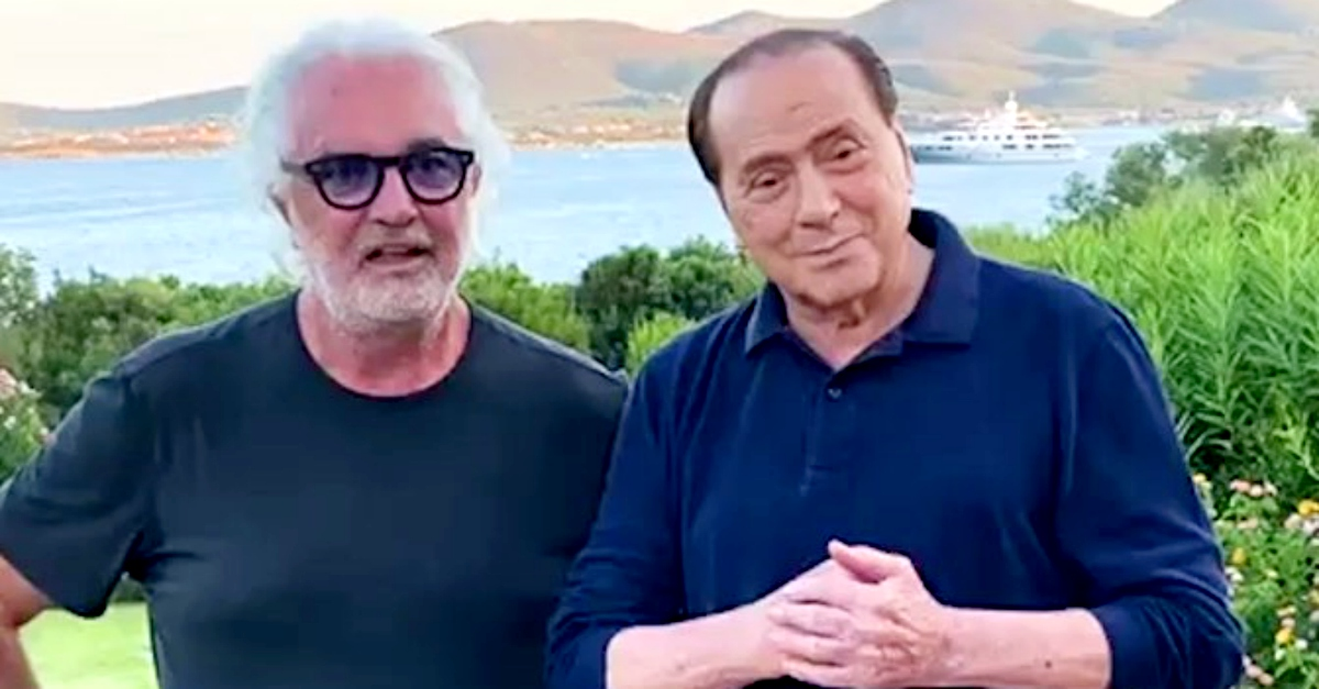 Anche Briatore positivo: in Sardegna aveva incontrato Berlusconi, Mihajlovic e Bonolis
