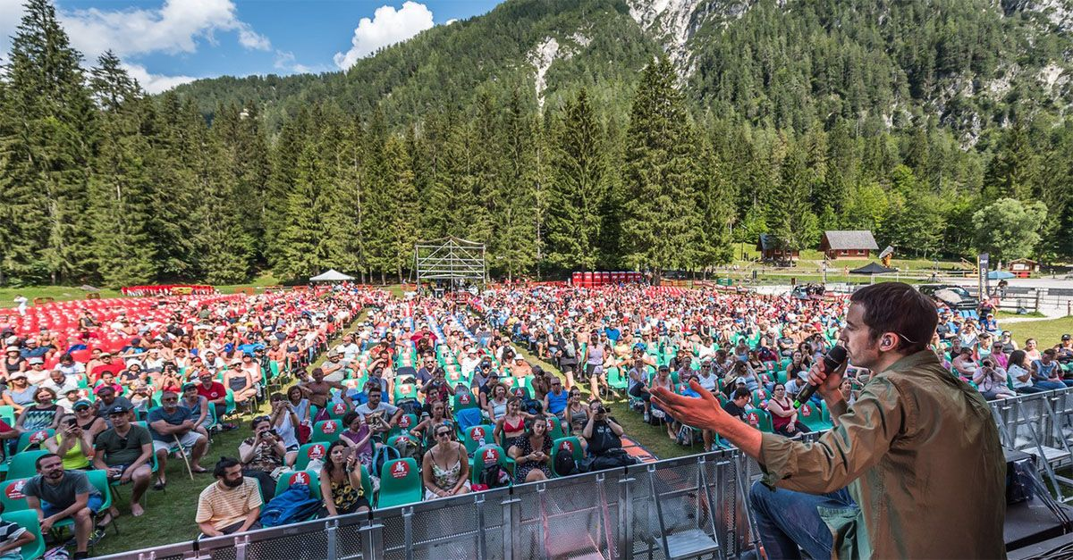 Diodato al No Border Music Festival: il vincitore di Sanremo sulle vette del Tarvisiano
