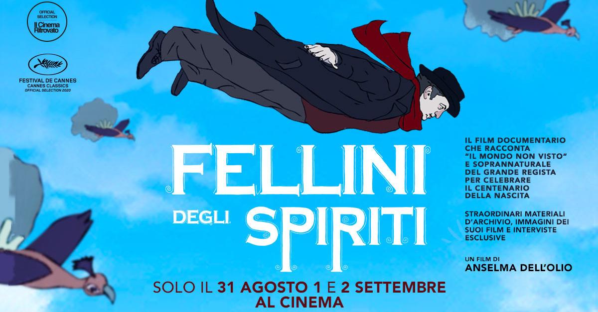 """In occasione dei 100 anni dalla nascita del maestro, arriva al cinema """"Fellini degli spiriti"""""""