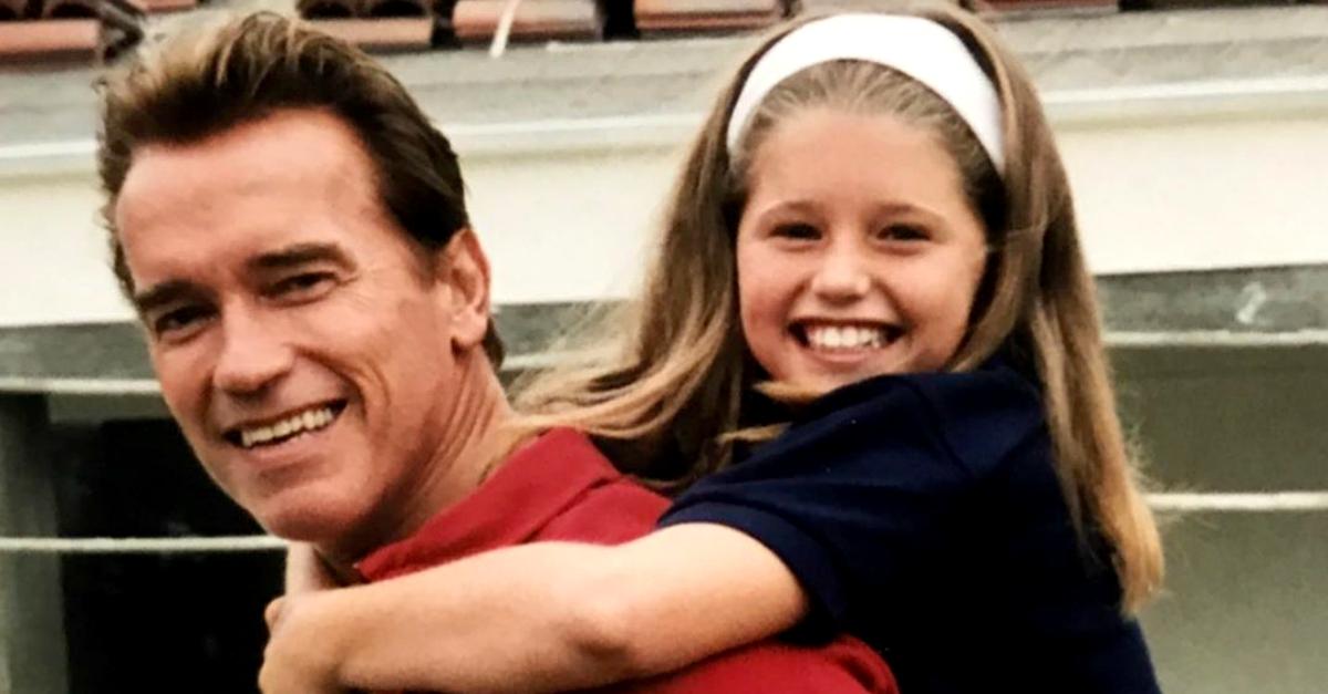Arnold diventa nonno: è nata la figlia di Katherine Schwarzenegger e Chris Pratt