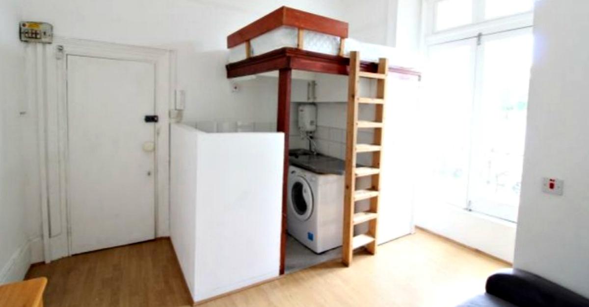 Cucina Lavatrice E Wc Sotto Al Letto Il Monolocale A 845 Al Mese Scatena I Social Radio Deejay