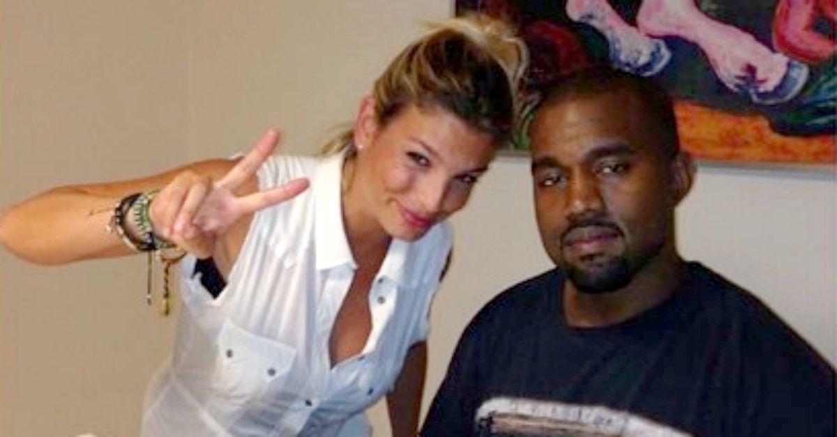 """Emma inondata di insulti per una foto con Kanye West. La sua risposta: """"Siete feccia"""""""
