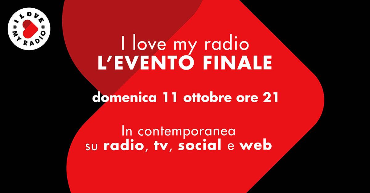 I Love My Radio, domenica 11 ottobre l'evento finale presentato da Gerry Scotti