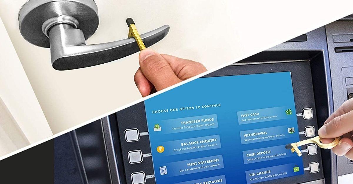 Ecco il gadget che apre le porte per voi (ed evita il contatto con le superfici)