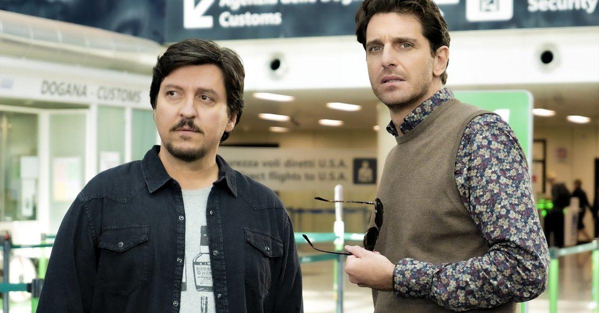 Divorzio a Las Vegas, la clip in esclusiva con Giampaolo Morelli e Ricky Memphis
