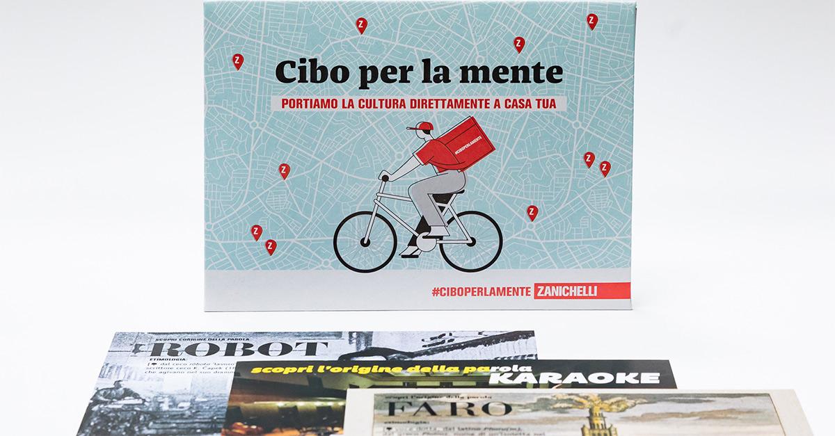 """Zanichelli lancia """"la cultura a distanza"""" con il tour #ciboperlamente in 7 città d'Italia"""