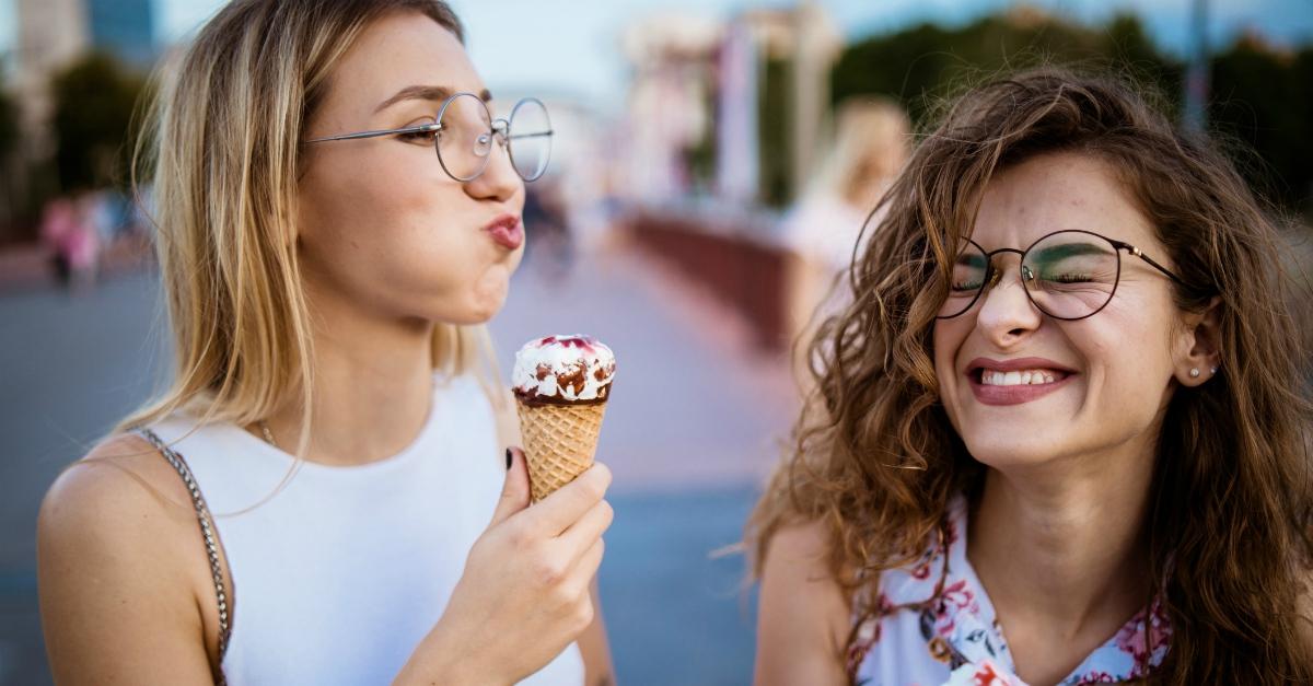 Questi sono i giorni per concedersi cioccolato, gelato e pizza senza sentirsi in colpa
