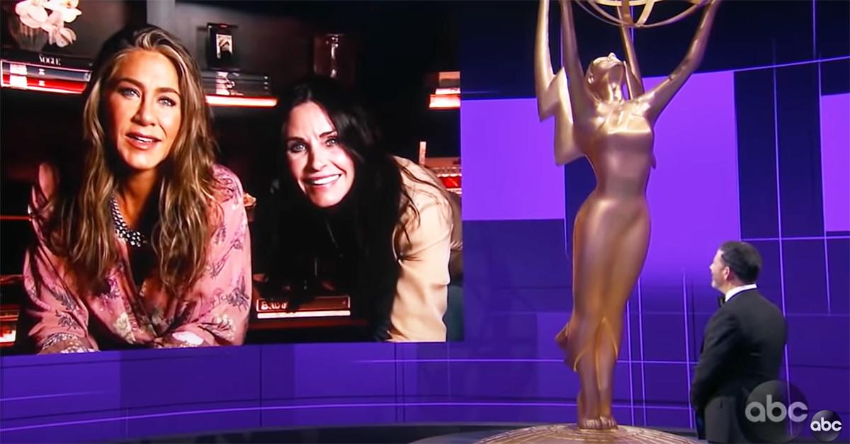 Emmy Awards 2020, il cast di Friends si ritrova nel salotto di Jennifer Aniston
