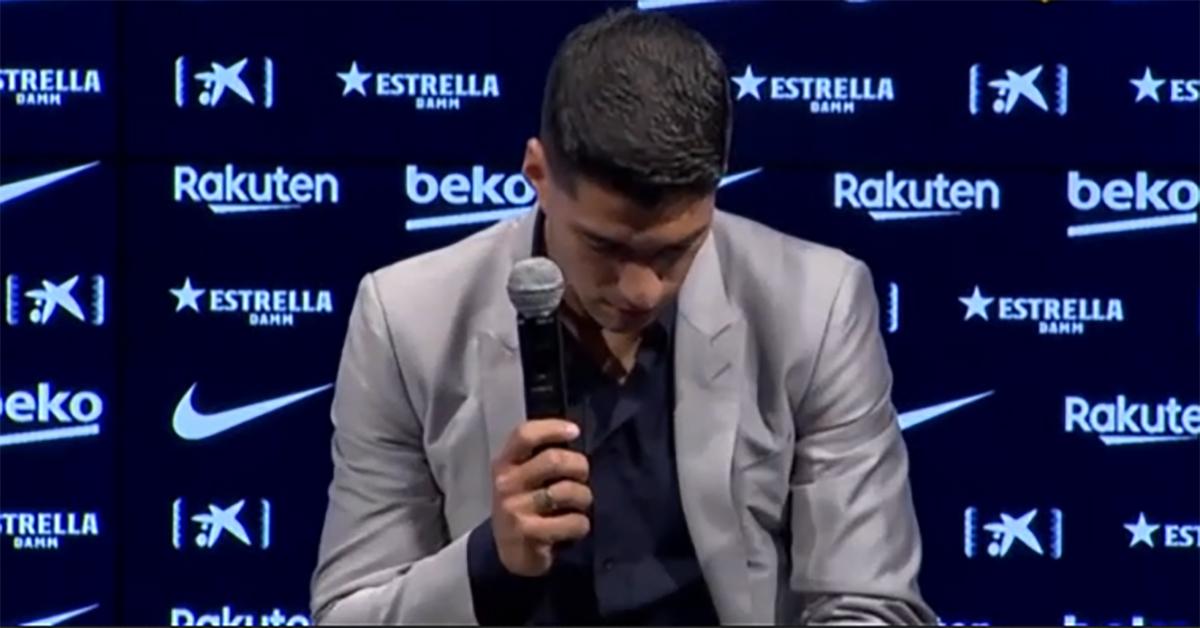 Barcellona, Suarez in lacrime per l'addio: nessun riferimento all'esame di italiano