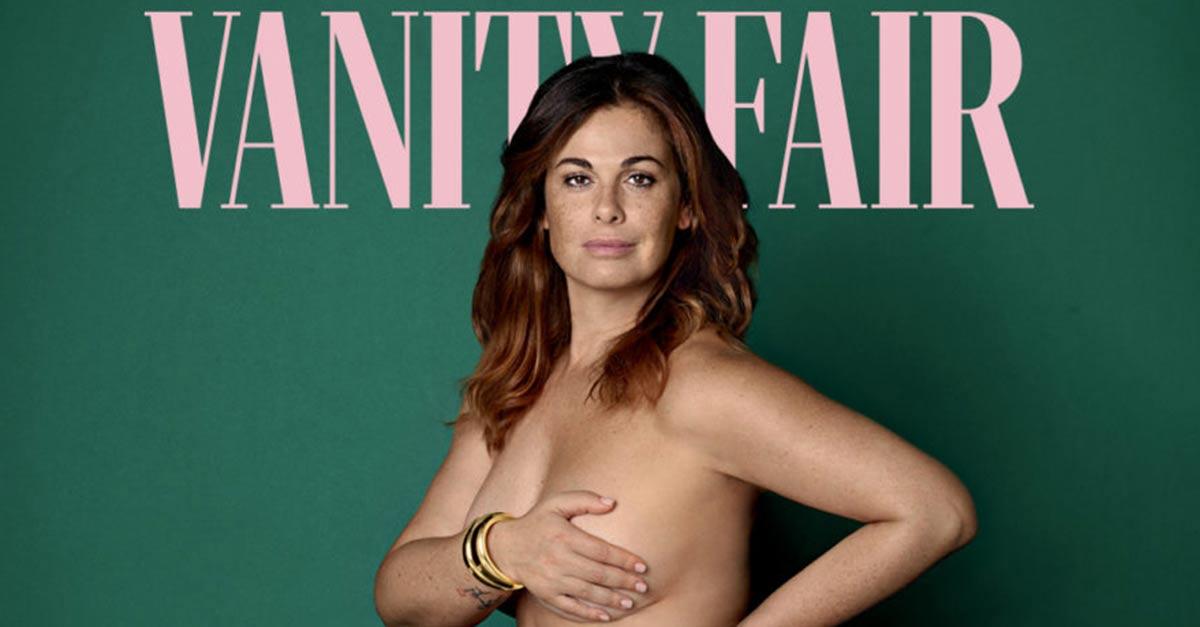 Vanessa Incontrada si mostra nuda sulla copertina di Vanity Fair contro haters e bullismo