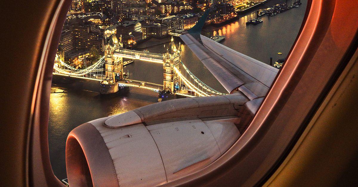 Voli senza destinazione: da oggi si può viaggiare solo per ammirare panorami pazzeschi