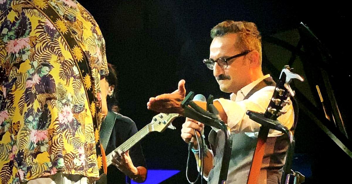 Nicola Savino cantante per una notte: il live al Blue Note di Milano