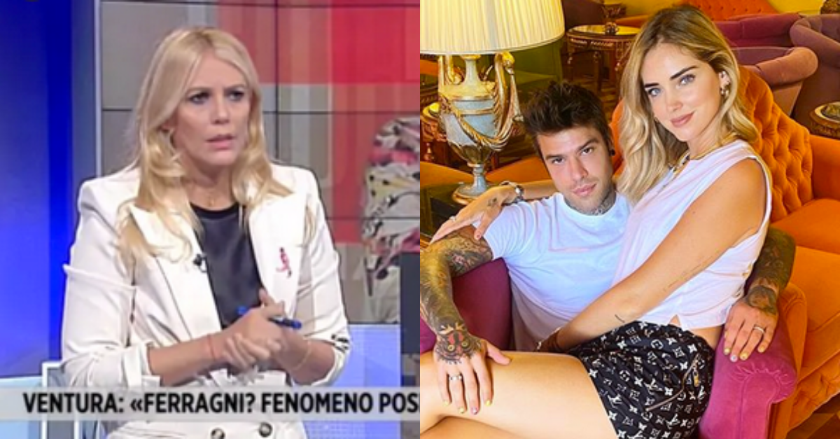 """Eleonora Daniele contro Chiara Ferragni: """"Non ha mai parlato del Covid"""". Fedez risponde"""
