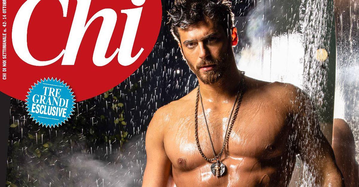 Can Yaman, il divo turco delle soap opera, si spoglia sulla copertina di Chi