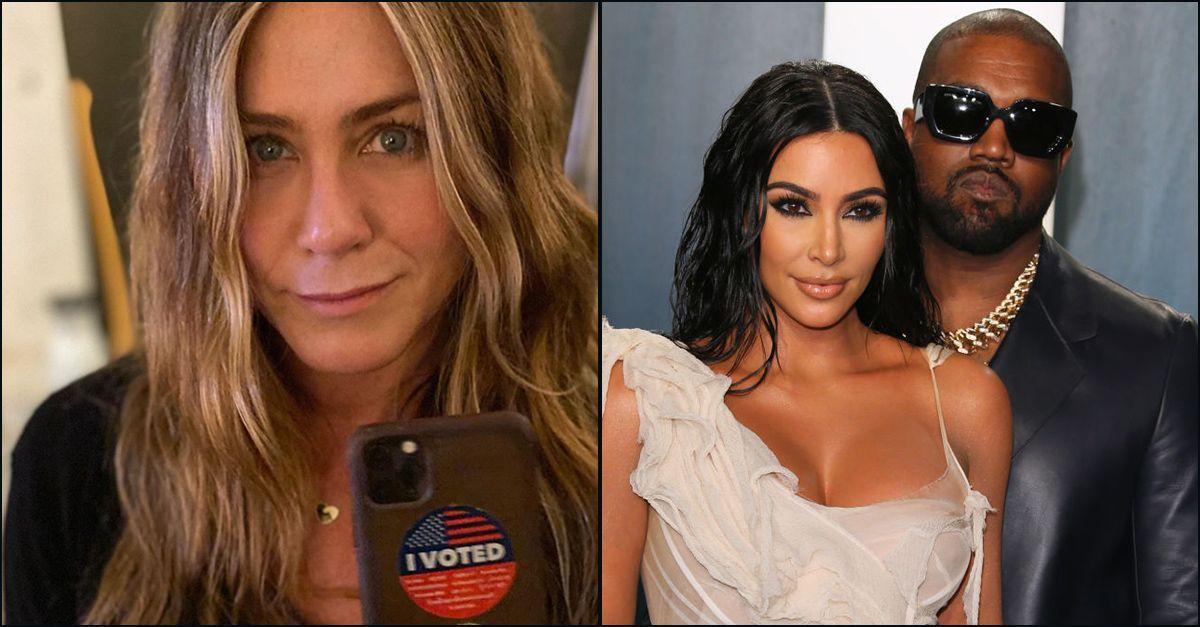 """Elezioni Usa, Jennifer Aniston: """"Non è divertente votare per Kanye West"""". La reazione del rapper"""