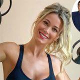 #Insiemeperlamusica, Diletta Leotta mette all'asta un allenamento con lei