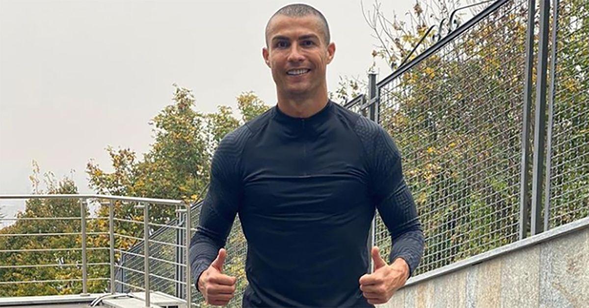 Cristiano Ronaldo pronto al rientro: nuovo look e messaggio sui social