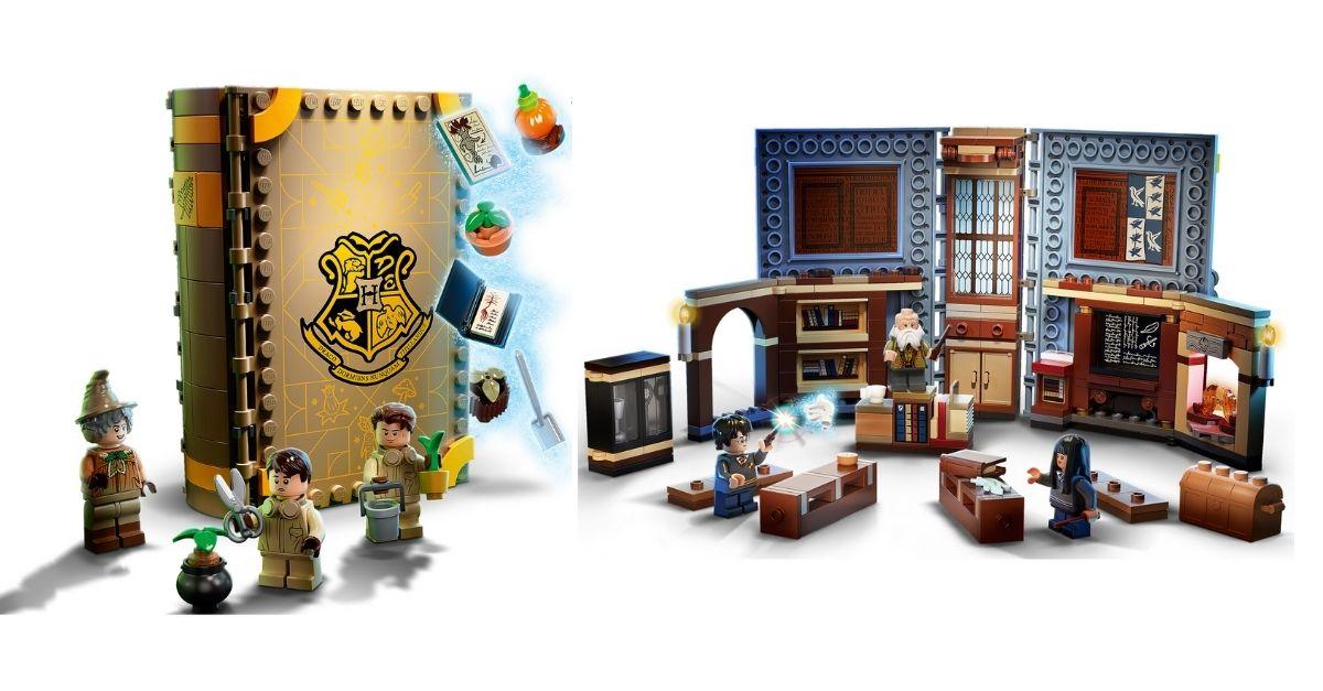 Lego, i nuovi set di Harry Potter sono dei libri: si aprono e diventano aule di Hogwarts
