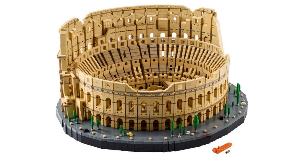 Lego, arriva il Colosseo. E' il set più grande mai realizzato