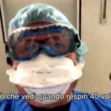 Covid, cosa vede un malato prima di morire: il video choc del medico di terapia intensiva