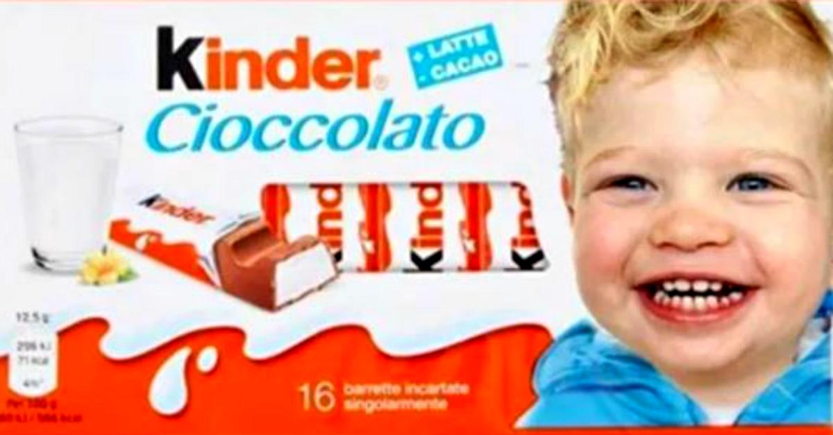 """Il figlio di Chiara Ferragni sulle confezioni Kinder. La influencer: """"È il mio sogno"""""""