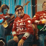 "Il backstage del video di ""It's All About Love"", la canzone di Natale di Radio Deejay"