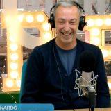 """Carteddate e mieru cuettu"": Linus e Nicola consolano l'ascoltatore bloccato a Londra"