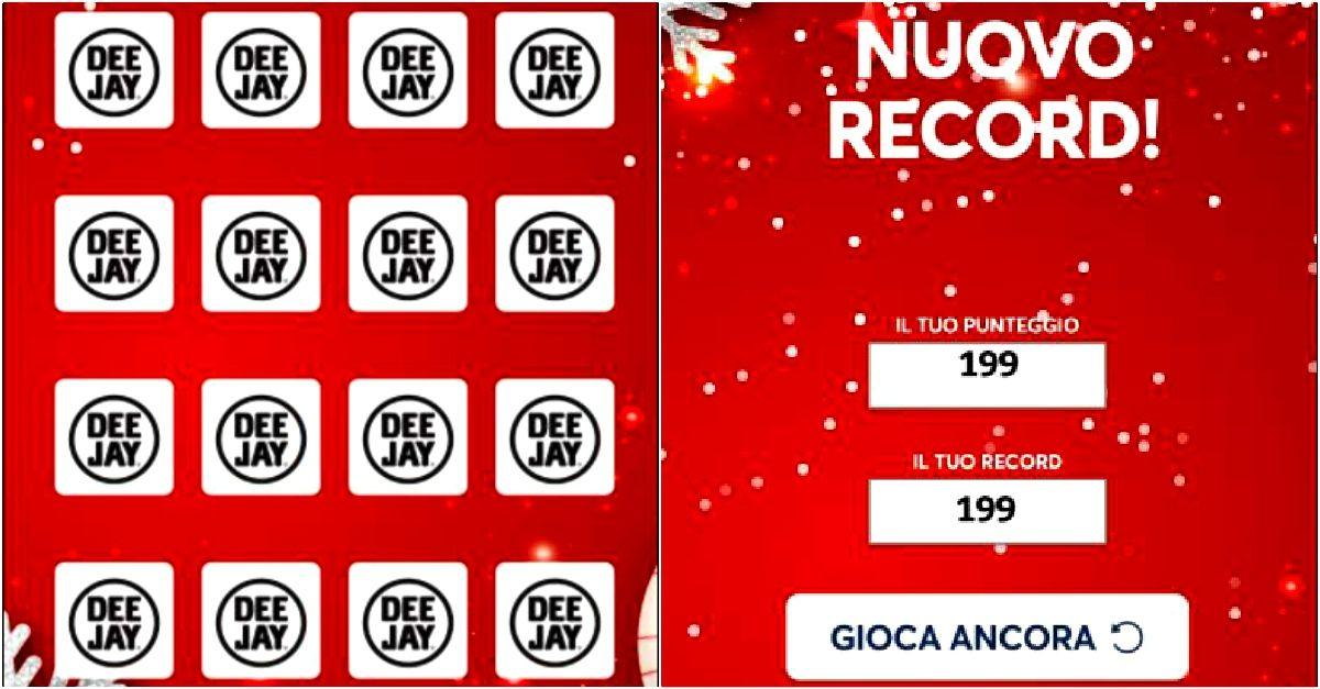 Il videogame di Natale con i volti di Radio DEEJAY: gioca subito gratis e batti il record