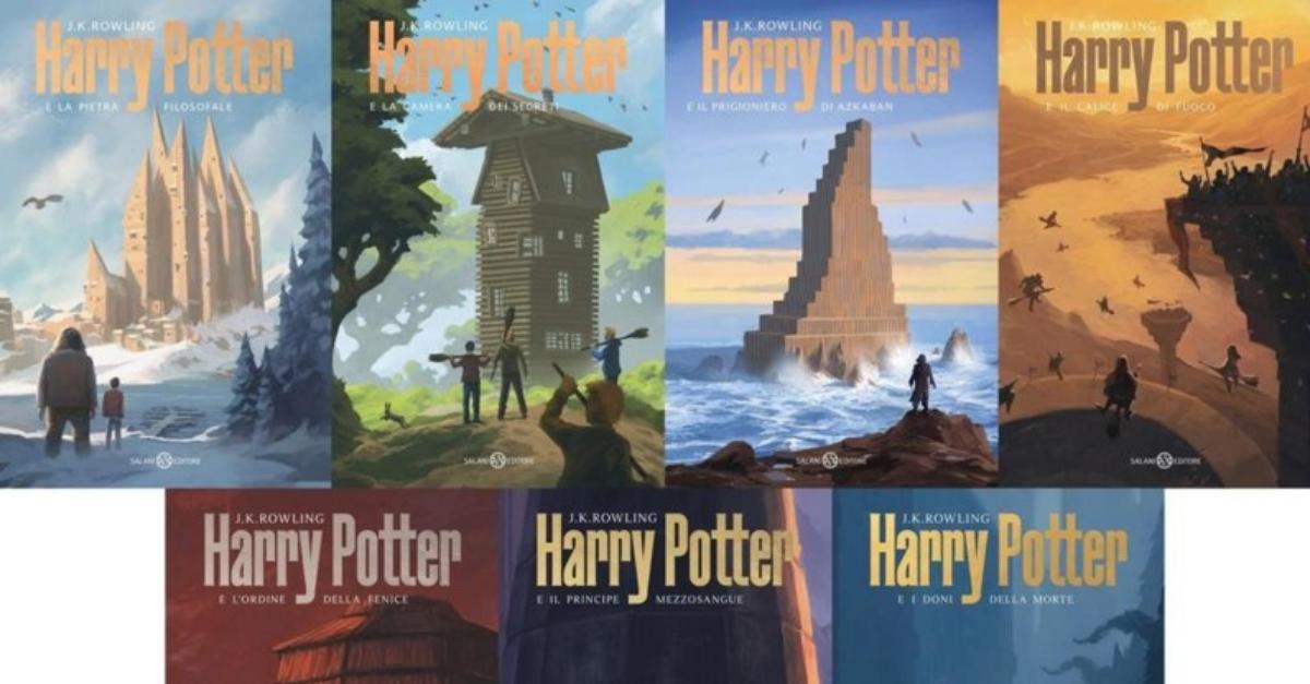 L'italiano Michele De Lucchi firma le nuove copertine dei libri di Harry Potter: l'intervista