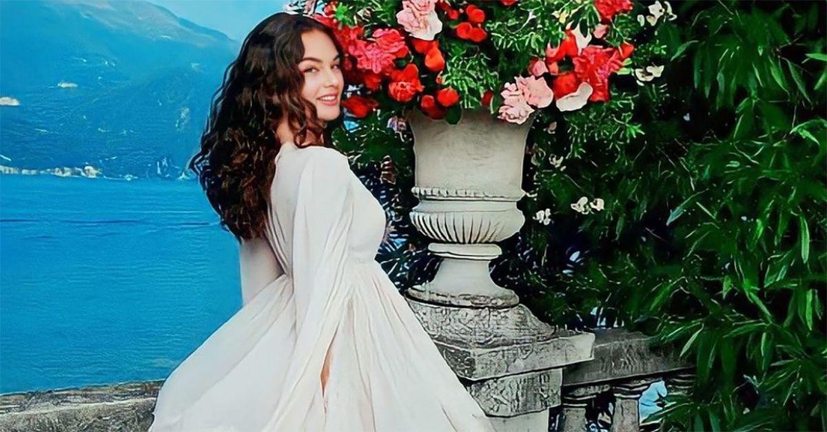 Sulle orme di mamma Monica Bellucci: Deva Cassel modella sul Lago di Como per Dolce&Gabbana