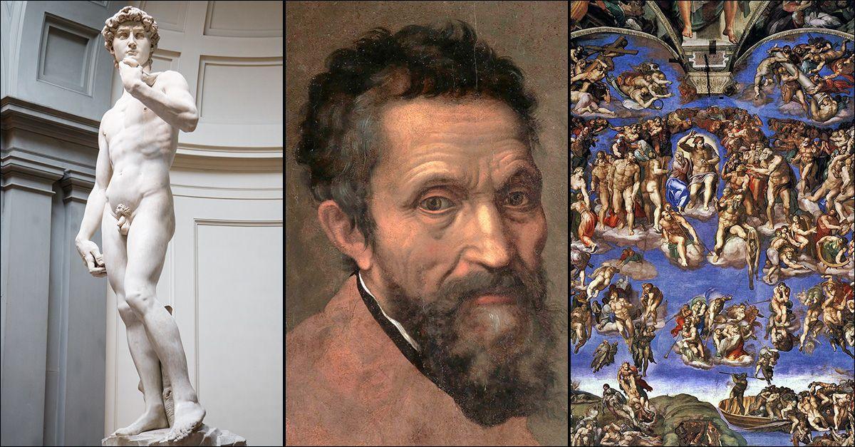 Calcolato il numero esatto di peni raffigurati nelle opere di Michelangelo: ecco il risultato